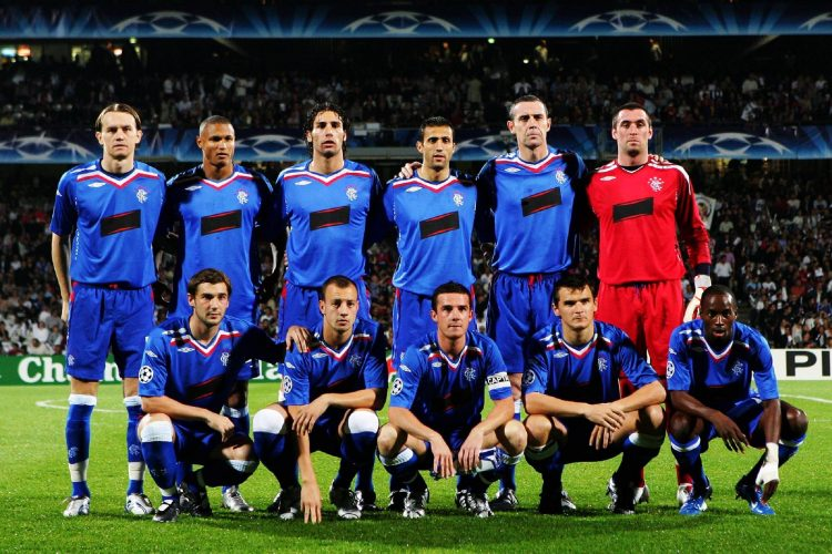 Fondo de pantalla de Rangers Football Club