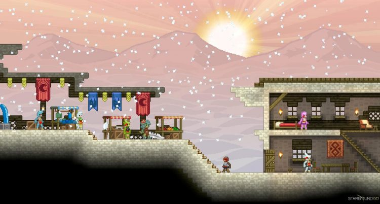 Vista previa de Starbound 2013